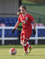 Tatiana Pinto of Bristol City Women - Mandatory by-line: Paul Knight/JMP - Mobile: 07966 386802 - 14/02/2016 -  FOOTBALL - Stoke Gifford Stadium - Bristol, England -  Bristol Academy Women v QPR Ladies - FA Cup third round