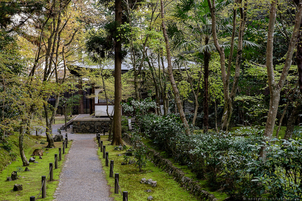 Jizo-ji temple in Kyoto