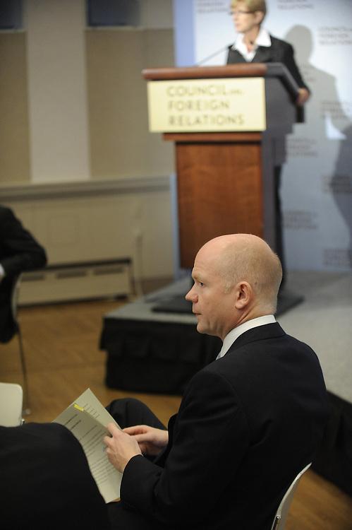 William Hague, UK Foreign Secretary