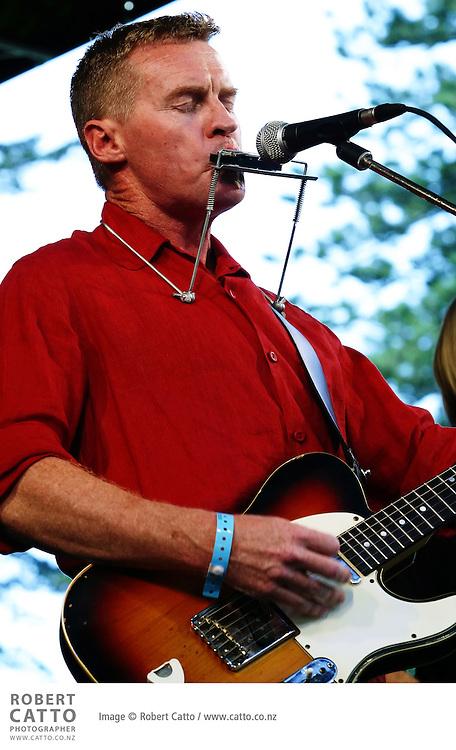 Don McGlashan performs at WOMAD Taranaki.