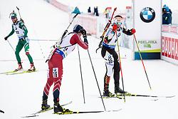 Florent Claude (BEL) in action during the Pursuit Men 12,5 km at day 8 of IBU Biathlon World Cup 2018/19 Pokljuka, on December 9, 2018 in Rudno polje, Pokljuka, Pokljuka, Slovenia. Photo by Urban Urbanc / Sportida