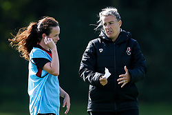 Bristol City Women Manager Tanya Oxtoby and Olivia Chance of Bristol City Women during training at Failand - Mandatory by-line: Robbie Stephenson/JMP - 26/09/2019 - FOOTBALL - Failand Training Ground - Bristol, England - Bristol City Women Training