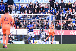 March 9, 2019 - Strasbourg, France - 09 MOUSSA DEMBELE (OL) - BUT (Credit Image: © Panoramic via ZUMA Press)