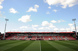 General view inside the Vitality Stadium. - Mandatory by-line: Alex James/JMP - 17/04/2016 - FOOTBALL - Vitality Stadium - Bournemouth, England - AFC Bournemouth v Liverpool - Barclays Premier League