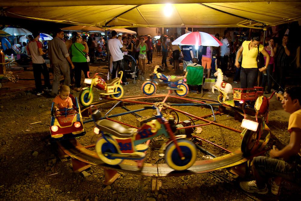 Carnaval in Rafael Freyre, Holguin, Cuba.