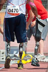 Behind the scenes, DERENALAGI Derek, GBR, Discus, F57/58, 2013 IPC Athletics World Championships, Lyon, France