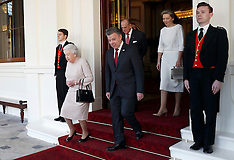 London: Colombian President state visit - Day Four, 3 Nov. 2016