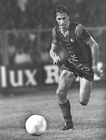 Fotball<br /> Barcelona Historie<br /> Foto: ColorsportDigitalsport<br /> NORWAY ONLY<br /> <br /> Johan Cruyff - Barcelona. 1977-78.