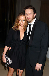 STELLA MCCARTNEY and husband ALASDHAIR WILLIS  at a Burns Night supper in aid of Clic Sargent & Children's Hospital Association Scotland hosted by Ewan McGregor, Sharleen Spieri and Lady Helen Taylor at St.Martin's Lane Hotel, 45 St Martin's Lane, London on 25th January 2006.<br /><br />NON EXCLUSIVE - WORLD RIGHTS