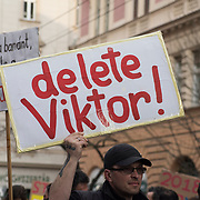 People descended on the street of Budapest to encourage the population to vote. The idea behind is that the more go to vote, the more likely there would be an upset to what seems to be a pro Orban majority.