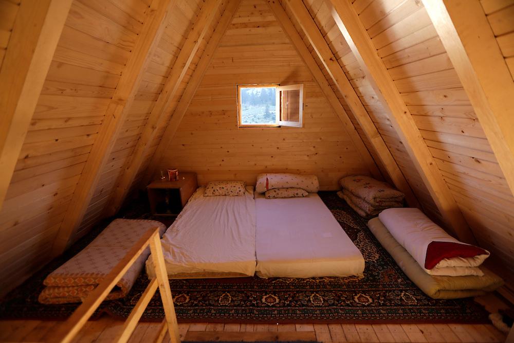 Guesthouse accommodation, Prokosko Lake, Bosnia and Herzegovina.
