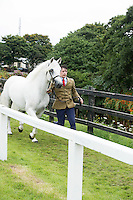 Joe Burke with Manor Duke owned by Mr Noel Noonan from Clifden at the 93rd annual Connemara Pony show in Clifden Co. Galway  Photo:Andrew Downes, XPOSURE <br />   Photo: Andrew Downes, Xposure.