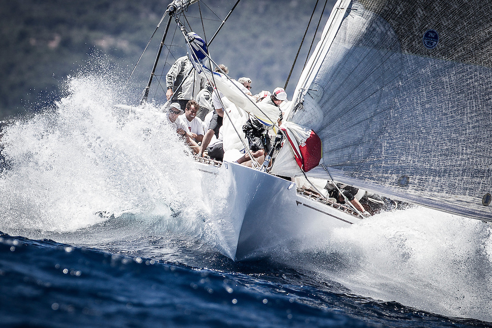 SPAIN, Palma. 19th June 2013. Superyacht Cup. J Class. Race One. Ranger.