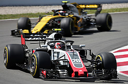 May 13, 2018 - Barcelona, Spain - Kevin Magnussen, team Haas, during the GP Spain F1, on 13th May 2018 in Barcelona, Spain. (Credit Image: © Joan Valls/NurPhoto via ZUMA Press)
