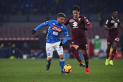 February 17, 2019 - Naples, Naples, Italy - Dries Mertens of SSC Napoli during the Serie A TIM match between SSC Napoli and FC Torino at Stadio San Paolo Naples Italy on 17 February 2019. (Credit Image: © Franco Romano/NurPhoto via ZUMA Press)