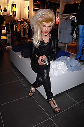JODIE HARSH at a party to celebrate the opening of the new H&M store at 234 Regent Street, London on 13th February 2008.<br />
