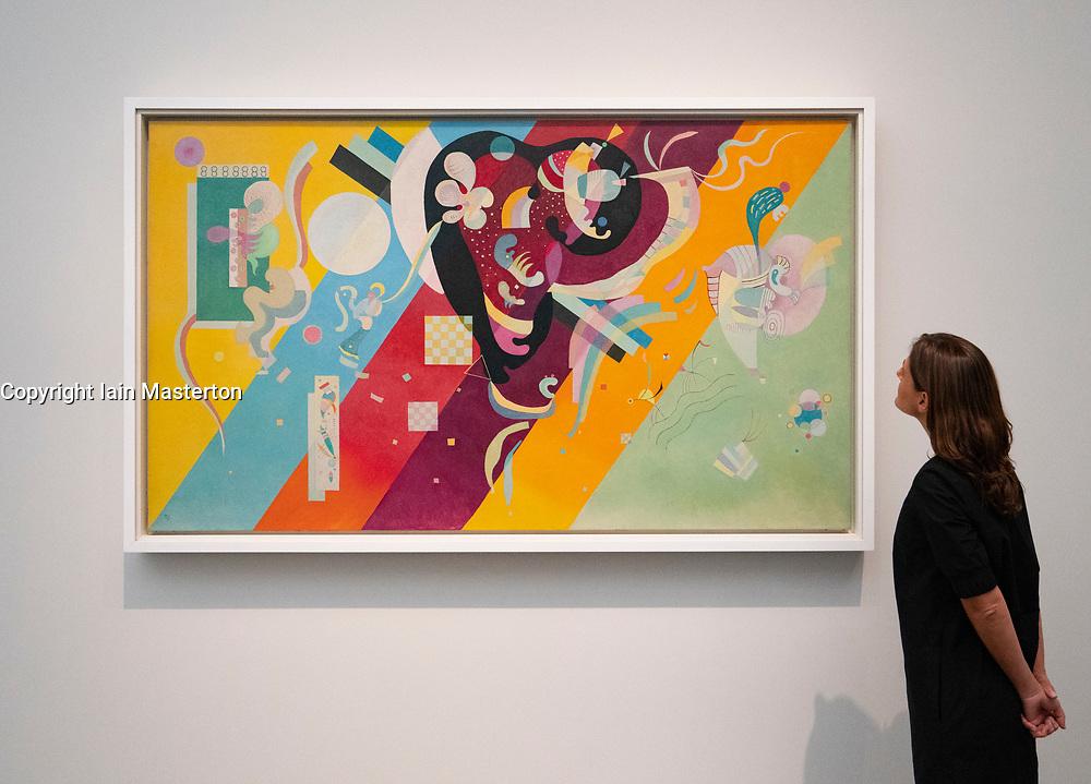 Composition IX by Wassily Kandinsky