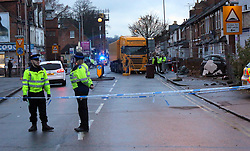 Reading,Berkshire Thursday 8th December 2016  Oxford road Reading  One person dies after Oxford Road crash in Reading<br /> An air ambulance has been called to the scene of what witnesses say is a multi-vehicle collision<br /> <br /> The scene of a serious crash in Oxford Road<br /> An air ambulance has been called to Oxford Road in Reading following a serious collision between a bus and a car.<br /> <br /> Police have closed the road in both directions to deal with the incident.<br /> <br /> A spokesman from South Central Ambulance Service confirmed reports of an incident were called in at around 1.15pm on Thursday, December 8.<br /> <br /> Two ambulances, an officer, a rapid response vehicle and the Thames Valley Air Ambulance have been called to the scene.<br /> <br /> It is not yet known how many people are involved int the incident or the extent of their injuries.<br /> <br /> A stretch of the road between Western Elms Avenue and Beecham Road has been closed.<br /> <br /> Thames Valley Police has not yet indicated when the road might reopen but drivers are advised to avoid the area Emergency services were called to the scene at 1.15pm The incident involved a car and a bus Three people were taken to hospita One person has died The road will be closed for &ldquo;several hours&rdquo; say Thames Valley Police The car involved has gone through a wall into a house No arrests have been made so far Police are appealing for anyone who may have seen the incident to come forward.<br /> <br /> Inspector Andy Storey, from the Joint Operations Unit for Roads Policing:<br /> <br /> &ldquo;We are investigating the circumstances of this collision in which a female pedestrian has sadly died. I would like to speak to anyone who witnessed the collision, or anyone who saw a black Ford Focus travelling in the area prior to the collision. &ldquo;I would also like to appeal to drivers who were in the area who have dash-cam footage or any other footage which may have captured the incident. &ldquo;I appreciate that motorists in the area will experience delays however the road closures are necessary for Roads Policing office