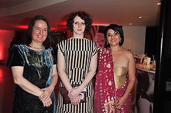 Left to right, Costa Poetry Award Winner 2010 and winner of the 2010 Costa Book of the Year 2010 JO SHAPCOTT Ð Of Mutabilit, Costa Novel Award Winner 2010 MAGGIE O'FARRELL Ð The Hand That First Held Mine and Costa First Novel Award Winner 2010 KISHWAR DESAI Ð Witness the Night at the Costa Book Awards 2010 held at Quaglino's, 16 Bury Street, London on 25th January 2011.<br /> Left to right, Costa Poetry Award Winner 2010 and winner of the 2010 Costa Book of the Year 2010 JO SHAPCOTT – Of Mutabilit, Costa Novel Award Winner 2010 MAGGIE O'FARRELL – The Hand That First Held Mine and Costa First Novel Award Winner 2010 KISHWAR DESAI – Witness the Night at the Costa Book Awards 2010 held at Quaglino's, 16 Bury Street, London on 25th January 2011.