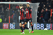Goal - Joshua King (17) of AFC Bournemouth celebrates scores a goal to give a 1-0 lead to the home team during the Premier League match between Bournemouth and Chelsea at the Vitality Stadium, Bournemouth, England on 30 January 2019.