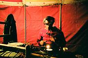 DJ with Turntable, Falougha, Lebanon, 2010