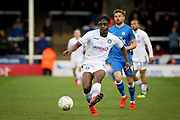 Wycombe defender Anthony Stewart (5) during the EFL Sky Bet League 1 match between Peterborough United and Wycombe Wanderers at London Road, Peterborough, England on 2 March 2019.