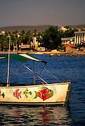 Image of La Paz from Plaza Coral Pier, Mexico, Baja California Sur, and Sea of Cortez