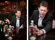 Bert Hooghoudt, owner and president of Hooghoudt Distillery in Groningen // Bert Hooghoudt, eigenaar en directeur van Distilleerderij  Hooghoudt in Groningen.