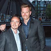 NLD/Amsterdam/20150914 -Jubileumvoorstelling Paul van Vliet 80 Jaar, Sipke Jan Bousema en partner
