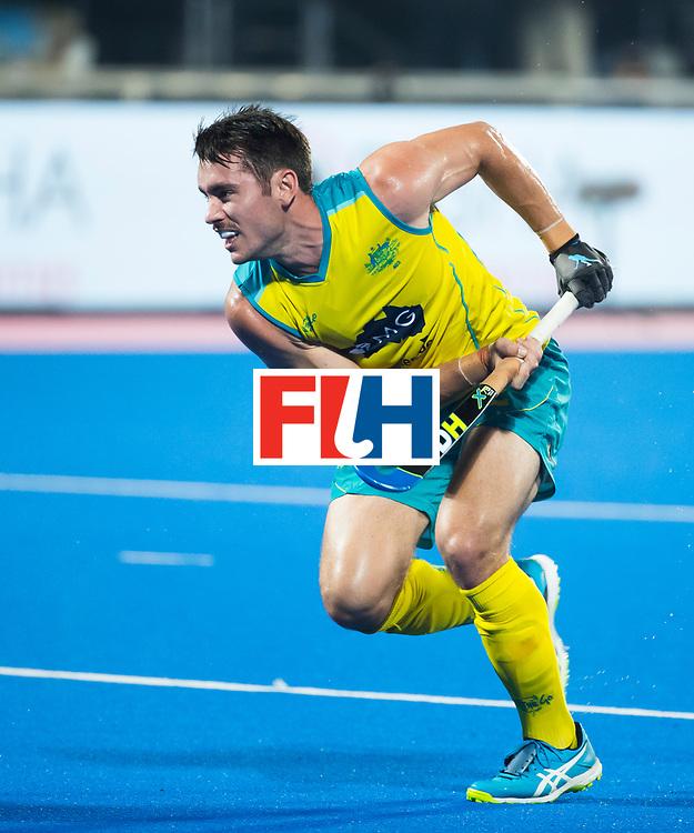 BHUBANESWAR - Jeremy Hayward (Aus)  Hockey World League finals , Final Australia-Argentina (2-1) . Australia wint de finale. COPYRIGHT KOEN SUYK