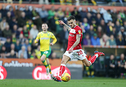 Jamie Paterson of Bristol City shoots - Mandatory by-line: Arron Gent/JMP - 23/02/2019 - FOOTBALL - Carrow Road - Norwich, England - Norwich City v Bristol City - Sky Bet Championship