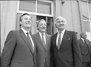 Euro-candidates handing in nomination papers, Cavan Town,<br />