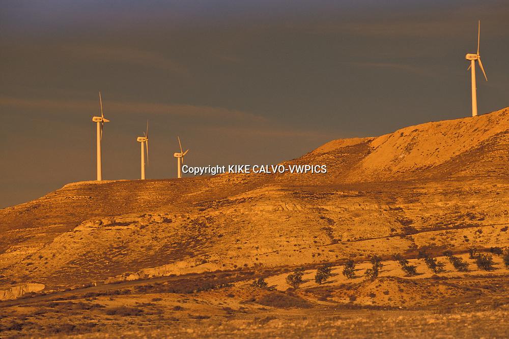 Windmills in la Muela area