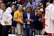 DESCRIZIONE : Campionato 2013/14 Finale Gara 7 Olimpia EA7 Emporio Armani Milano - Montepaschi Mens Sana Siena Scudetto<br /> GIOCATORE : Franco Del Moro Alessandro Catellani<br /> CATEGORIA : Tifosi VIP<br /> SQUADRA : Olimpia EA7 Emporio Armani Milano<br /> EVENTO : LegaBasket Serie A Beko Playoff 2013/2014<br /> GARA : Olimpia EA7 Emporio Armani Milano - Montepaschi Mens Sana Siena<br /> DATA : 27/06/2014<br /> SPORT : Pallacanestro <br /> AUTORE : Agenzia Ciamillo-Castoria /GiulioCiamillo<br /> Galleria : LegaBasket Serie A Beko Playoff 2013/2014<br /> FOTONOTIZIA : Campionato 2013/14 Finale GARA 7 Olimpia EA7 Emporio Armani Milano - Montepaschi Mens Sana Siena<br /> Predefinita :