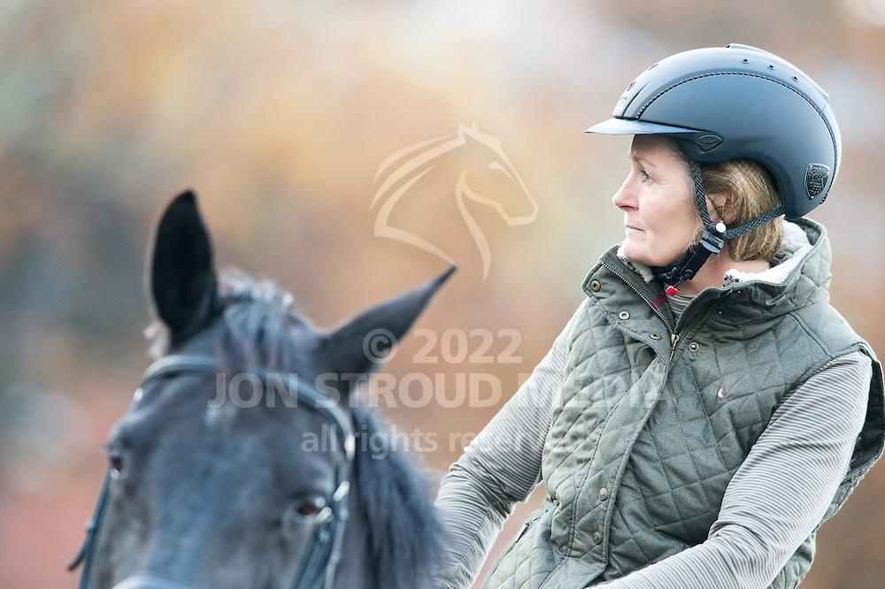 Hoof Ride - Warwickshire College, Moreton Morrell, Warwickshire, United Kingdom - 18 November 2014