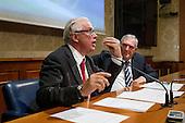 Senators suspended for sexist gestures press conference