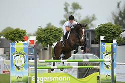 Benkert, Anne, Chica<br /> Fehmarn - Holsteiner Masters<br /> Springpferdeprüfung 4+5j. Pferde<br /> © www.sportfotos-lafrentz.de/ Stefan Lafrentz
