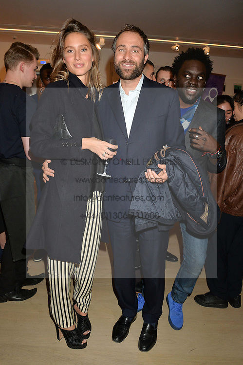 BEN & JEMIMA GOLDSMITH at Fashions for The Future presented by Oceana's Junior Council held at Phillips Auction House, 30 Berkeley Square, London on 19th March 2015.