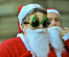 Charity Santa Dash | Glasgow | 10 December 2017