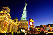Image of The Strip in Las Vegas, Nevada, American Southwest