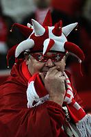 Photo: Tony Oudot/Richard Lane Photography. <br /> England v Switzerland. International Friendly. 06/02/2008. <br /> A Swiss fan