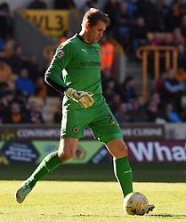 Wolves' Tomasz Kuszczak - Photo mandatory by-line: Paul Knight/JMP - Mobile: 07966 386802 - 07/03/2015 - SPORT - Football - Wolverhampton - Molineux Stadium - Wolverhampton Wanderers v Watford - Sky Bet Championship