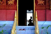 Novice monks of Luang Prabang