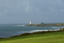 CA: Pigeon Point, California, lighthouse 2005 .Image: capigeon109.Photo Copyright: Lee Foster, lee@fostertravel.com, www.fostertravel.com, (510) 549-2202..