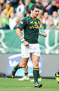 CAPE TOWN, SOUTH AFRICA - Saturday 28 September 2013, Morne Steyn of South Africa during the Castle Lager Rugby Championship test match between South Africa (Sprinkboks) and Australia (Wallabies) at DHL Newlands in Cape Town.<br /> Photo by Roger Sedres/ ImageSA