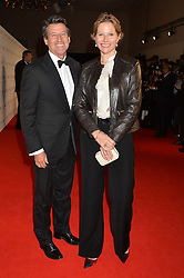 LORD & LADY COE at the IWC Schaffhausen Gala Dinner in honour of the British Film Institute held at the Battersea Evolution, Battersea Park, London on 7th October 2014.