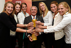 20150330 NED: FIVB Drawing WCH Beach Volleyball, The Hague