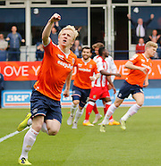 Luton Town v Stevenage 02/05/2015