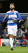 QPR Forward Charlie Austin comes on as a sub during the Sky Bet Championship match between Queens Park Rangers and Leeds United at the Loftus Road Stadium, London, England on 28 November 2015. Photo by Andy Walter