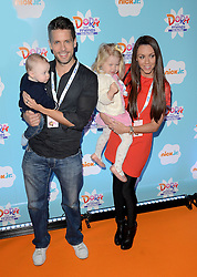 Aaron Jay Hanley, Hugh Hanley,  Faith Hanley and Michelle Heaton attend Dora and Friends TV Premiere at Empire Leiceter Sq, London on Sunday 2.11.2014